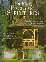 Building Backyard Structures