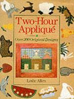 Two-hour Applique