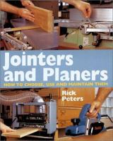Jointers and Planers