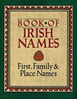 Book of Irish Names