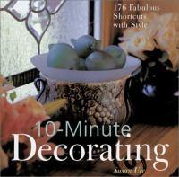 10-minute Decorating