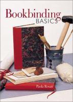 Bookbinding Basics