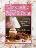 Decorating With Paper & Paint