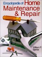 Encyclopedia of Home Maintenance and Repair