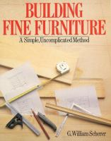 Building Fine Furniture