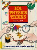 101 Physics Tricks
