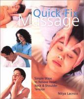 Quick-fix Massage