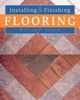 Installing and Finishing Flooring