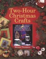 Two-hour Christmas Crafts