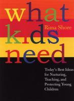 What Kids Need