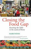 Closing the Food Gap