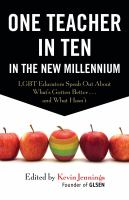 One Teacher in Ten in the New Millennium