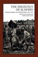 The Ideology of Slavery