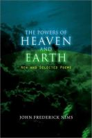 The Powers of Heaven and Earth