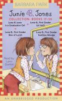 Junie B. Jones Collection : Books 17-20 (Audiobook on CD)