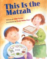 This Is the Matzah