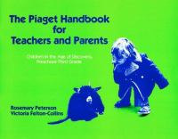 The Piaget Handbook for Teachers and Parents