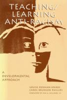 Teaching/learning Anti-racism