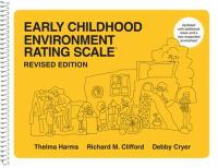 Early Childhood Environment Rating Scale (revised Ed.)