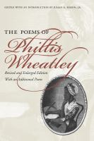 The Poems of Phillis Wheatley