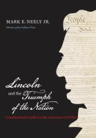 Lincoln and the Triumph of the Nation