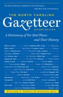 The North Carolina Gazetteer