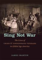 Sing Not War