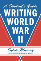 Writing World War II