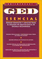 Contemporary's GED esencial