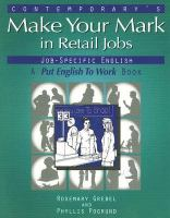 Contemporary's Make your Mark in Retail Jobs