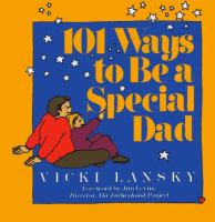 101 Ways to Be A Special Dad