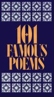 101 Famous Poems With A Prose Supplement