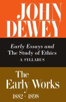The Early Works, 1882-1898