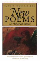 Neue Gedichte