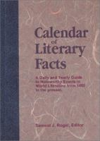 Calendar of Literary Facts