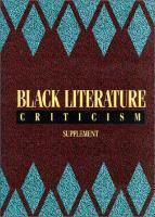 Black Literature Criticism