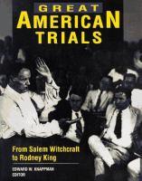 Great American Trials