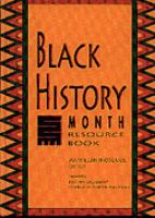 Black History Month Resource Book