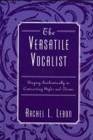 The Versatile Vocalist
