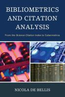 Bibliometrics and Citation Analysis