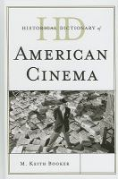 Historical Dictionary of American Cinema