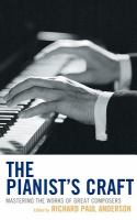 The Pianist's Craft