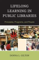 Lifelong Learning in Public Libraries
