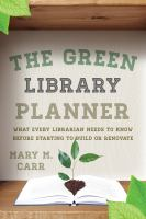 The Green Library Planner