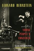 Leonard Bernstein and His Young People's Concerts