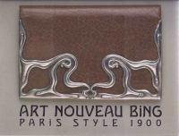 Art Nouveau Bing