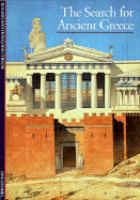The Search for Ancient Greece