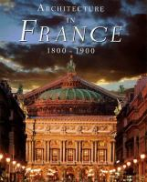 Architecture in France, 1800-1900