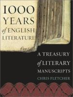 1000 Years of English Literature