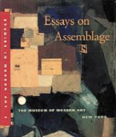 Essays on Assemblage